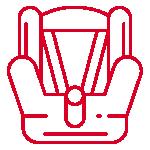嬰/幼童安全座椅(1~4歲)